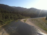I pulled 11 trout out of this river..diner