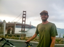 Golden Gate Bridge, this was a long day